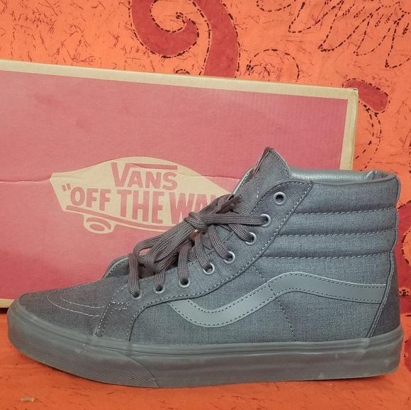 e954d6953f93 Vans Shoes   Sk8 Hi Grey Mens 11womens 1212 12 Rare   Poshmark